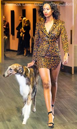 Kyra McNeil model wolfhound leopard 6655