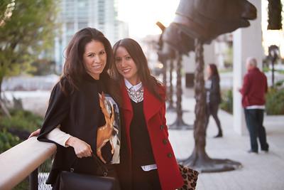 Silvia Burgoa and Monica Stumacher