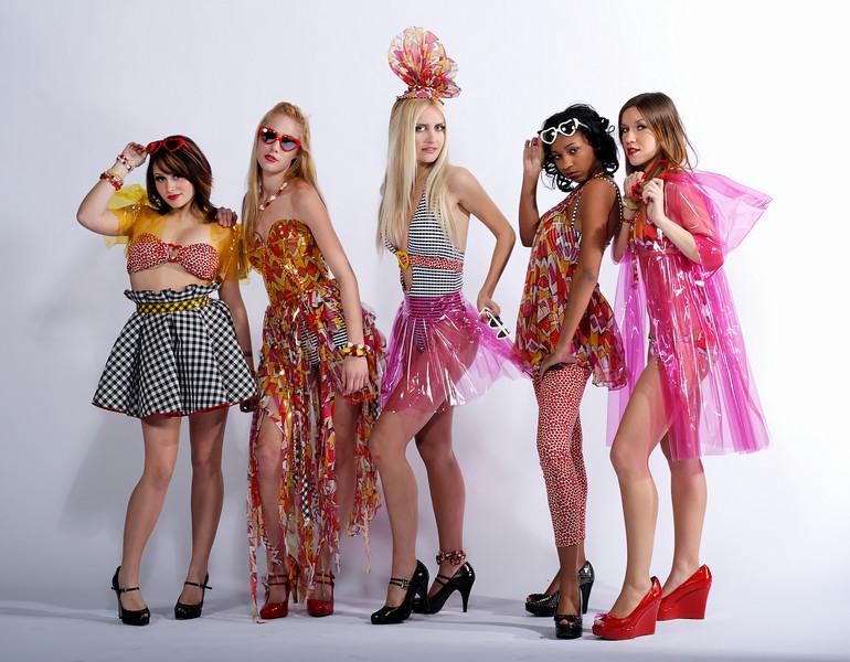 Sasha, Jessica, Elaine, Ashley, Yulia