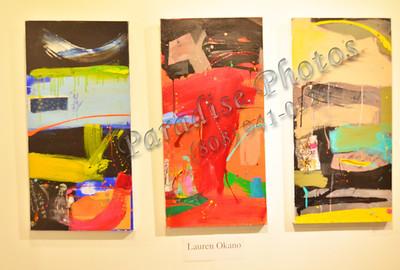 Lauren Okano 3 pc Art 166