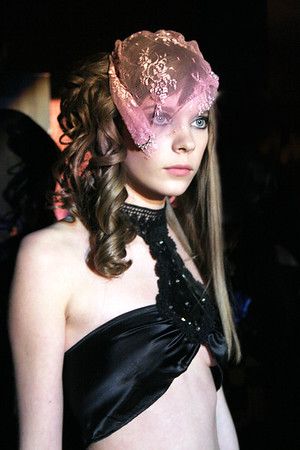 Paris, le 4 avril 2006, Défilé Nuit de La Mode à la Galerie