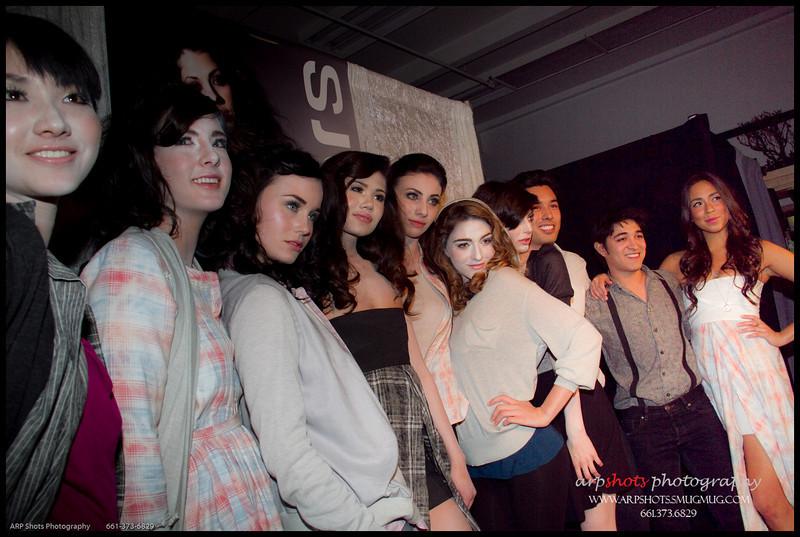 SJOBECK's Models & the Designers...  Garret Gerson, Jesse Ray Vasquez, Lani Lupton