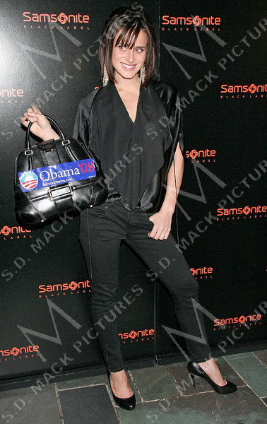NEW YORK - FEBRUARY 05:  Actress Francesca Cecil attends the Samsonite Black Label Launch of Iconic Trunk Collection Fall 2008 during Mercedes-Benz Fashion Week at The Cellar Bar at the Bryant Park Hotel on February 5, 2008 in New York City.  (Photo by Steve Mack/S.D. Mack Pictures) *** Local Caption *** Francesca Cecil
