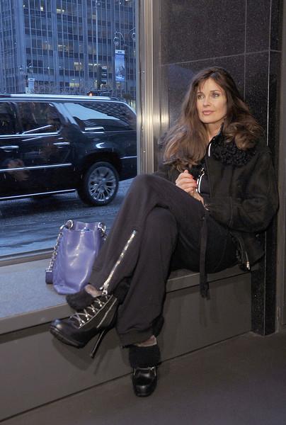 "Carol Alt at Stephen Burrows Fall 2012 collection, held at The Audi Pavillion in New York City, Thursday, February 16, 2012. (photo by Katy Winn/ Graylock.com) <a href=""mailto:katywinn@justwinnk.com"">Email Me</a>"