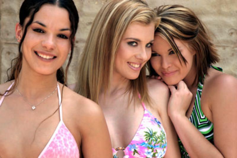 SoCal Models at April 2003 Arizona Shootout