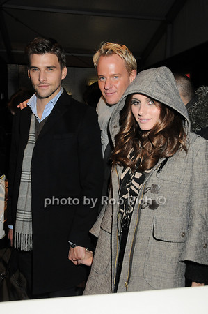 Johannes Huebl, Daniel Benedict, Olivia Palermo<br /> <br /> photo by Rob Rich © 2010 robwayne1@aol.com 516-676-3939