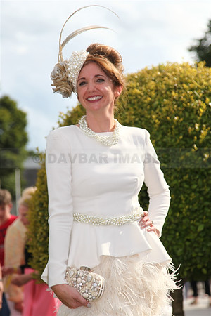 Carol Kennelly - Best Dressed Lady at Dublin Horse Show (August 2014)