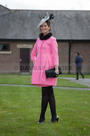 Emer Nash - Coast Best Dressed Lady competition (April 2013)