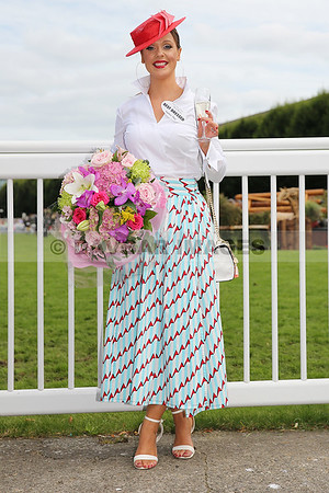 Aoibheann McMonagle - Winner of the Dundrum Town Centre Best Dressed Lady at the RDS (Aug 2017)