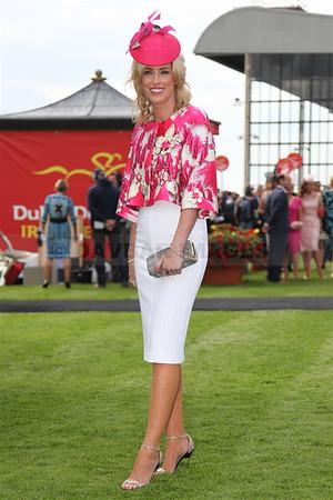 Caitriona Hanley - Best Dressed Lady at the Dubai Duty Free Irish Derby Festival (June 2014)