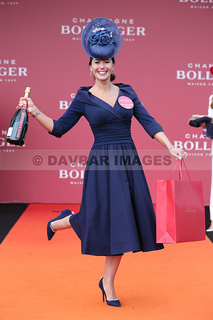 Eimear Cassidy - Bollinger Best Dressed Lady at the Punchestown Festival (April 2018)