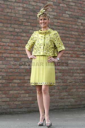 Kay Mulcaire - Arnotts Best Dressed Lady Finalist at Punchestown (April 2010)