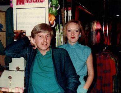 Gerda en Antoine in M&M Dordrecht in 1978