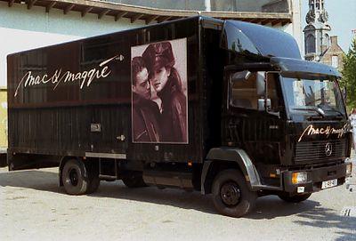 De Mac & Maggie vrachtwagen