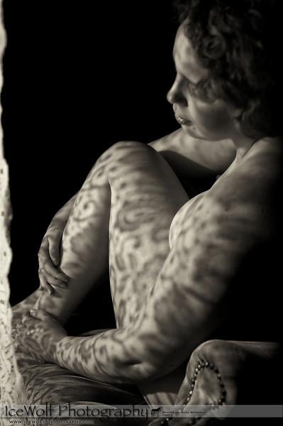 Model/MUA/Hair: Christine McAllister<br /> Photographer: Alex Weisman
