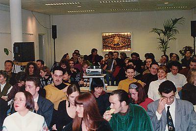 Jaarvergadering in het Opleidingscentrum in Utrecht