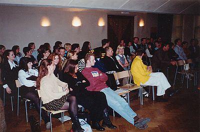 Jaarvergadering in Oibibio in Amsterdam