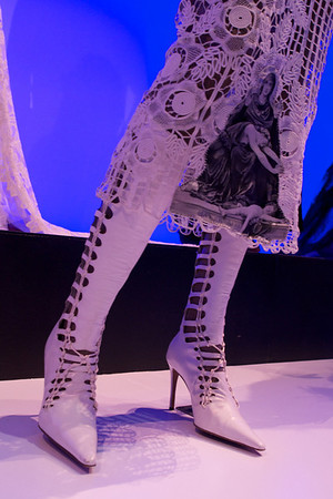Crochet Madona and killer boots