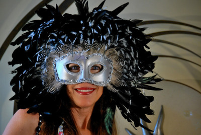 Mask created by Artist JoAnne Gimbel