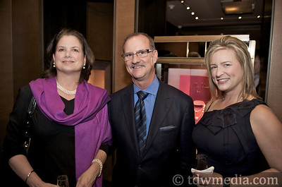 Ruth Hughes, Dale Williams Brown - Brand Director Boucheron USA and Anne Little
