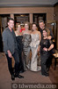 Travis Jennings, Ruth Krumbhaar, Nikki Haramoglis, Sherri Siegel, Peter Van de Velde and Sara Crosat, models with the Kim Vo Salon hair and makeup team.