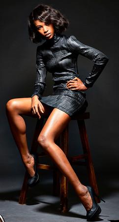New York, New York - Nov. 6, 2016 :   Kareen Taylor model SamanthaGoldstein MUA Oleg T Studio Credit: Robert Altman