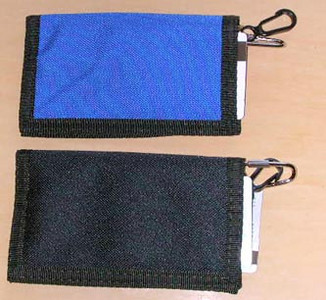 2 color credit card wallet