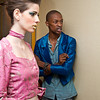 Backstage at Luis Valenzuela at the Green Shows 2010