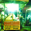 At night, food carts gather at an empty lot in the heart of Legazpi City to cater to transients and locals alike. (Noel S. Villaflor photo)