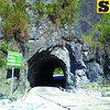 A three-meter-wide tunnel along the Halsema Highway in the Mountain Province. (Noel S. Villaflor photo)