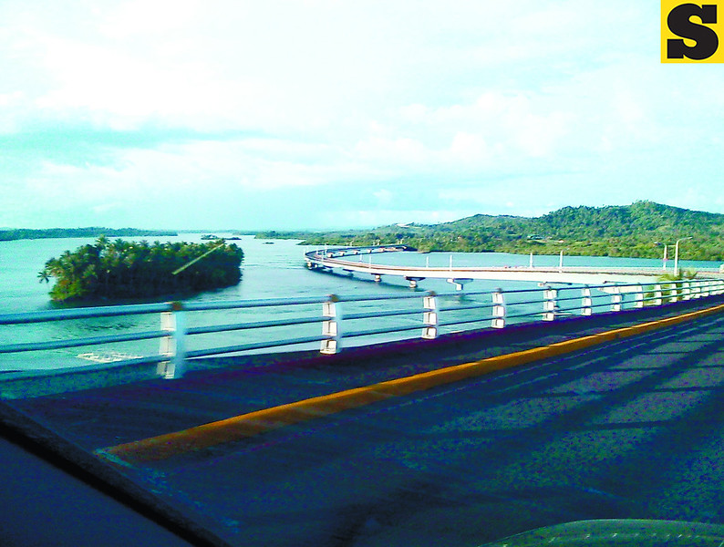 The San Juanico Bridge. (Noel S. Villaflor photo)