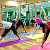Holiday Gym in Davao City holds daily yoga classes.