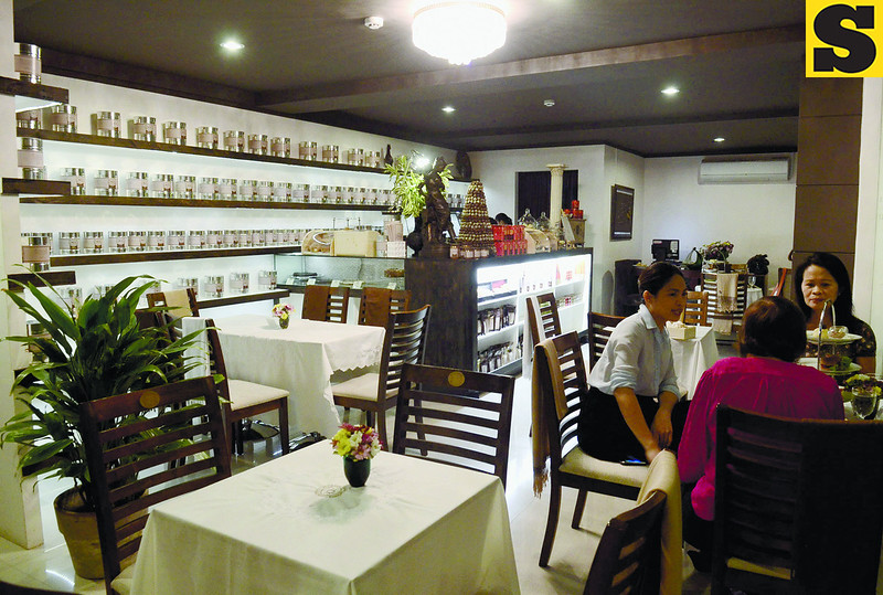 The Chocolate Chamber, where customers can linger over many chocolate offerings and purchase chocolate products to enjoy at home. (Photo by Ruel Rosello of Sun.Star Cebu)