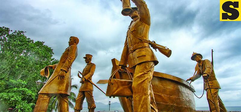 Punto del Disembarco Rizal Sta. Cruz in Dapitan City. (Jojie Alcantara photo)