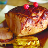 Cafe Marco's Christmas ham. (Photo by Ruel Rosello of Sun.Star Cebu)