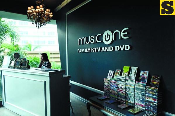 Music One Family KTV and DVD in Cebu City. (Photo by Amper Campana of Sun.Star Cebu)