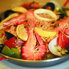 Cafe Marco's Paella valenciana. (Photo by Ruel Rosello of Sun.Star Cebu)