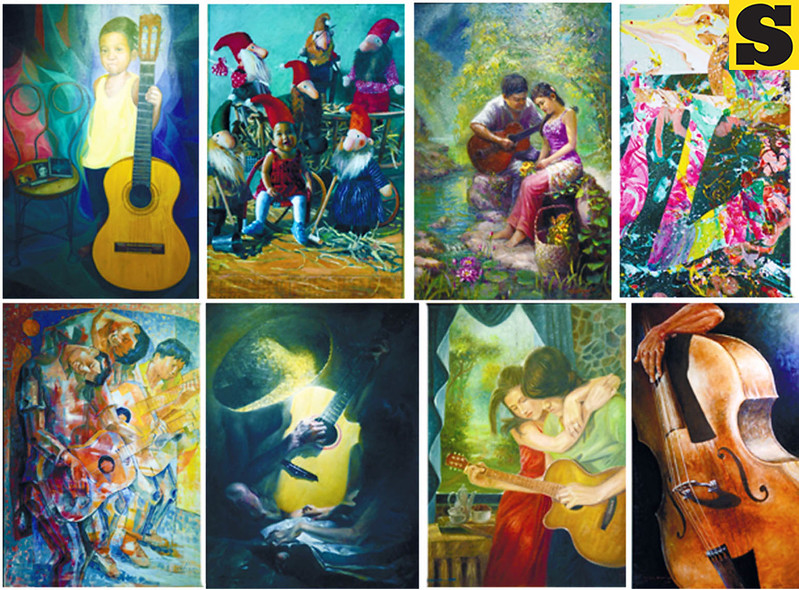 Halad Musika: A Medley of Visuals paintings
