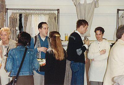 Opening van het filiaal in Antwerpen, Leysstraat in 1994