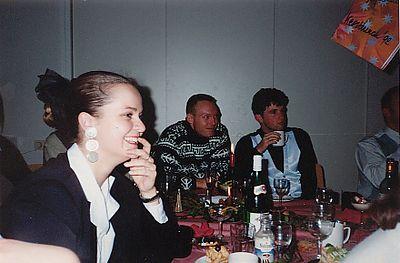 Kerstlunch 1992, kantoor Amstelveenseweg in Amsterdam