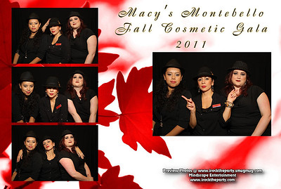 Macy's Montebello Fall Cosmetic Beauty Gala 2011 - Photo Booth Pictures