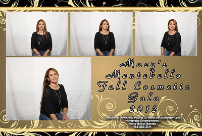 Macy's Montebello Fall Cosmetic Beauty Gala 2012 - Photo Booth Pictures