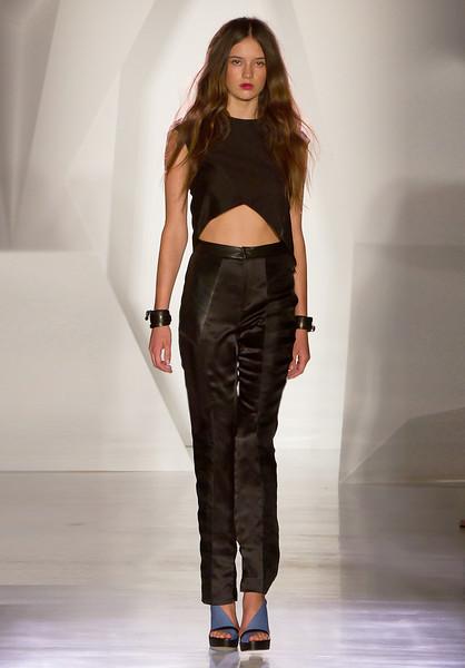 Mandy Coon Runway NYFW SS 2012