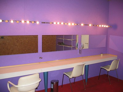 De dressingroom