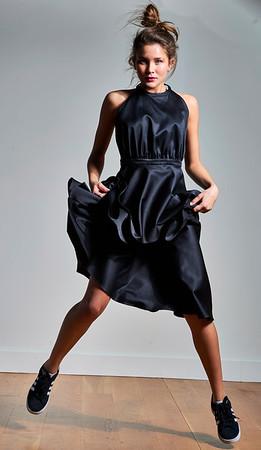 New York, New York - Nov. 12, 2016 :   Breed Photo shoot LIC black and white mood Model: @meganaperfine with Red NYC     Creative/style: @juliaamorris Hair: @DavidlHarr Make-up: @chelbomb Stylist's assist: @kiki_camp Credit: Robert Altman