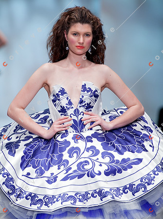 2010 Melbourne Spring Fashion Week - RMIT Student Series - Cindy Wei Zhang