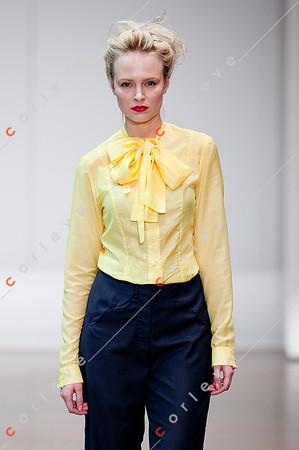 2010 Melbourne Spring Fashion Week - RMIT Student Series - Jessica Slade
