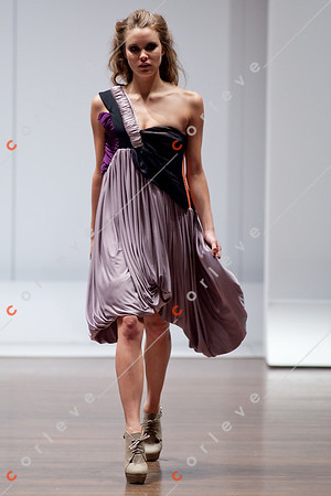2010 Melbourne Spring Fashion Week - RMIT Dangerous Goods Runway 2 - Katelyn Donald