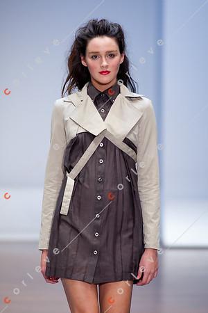 2010 Melbourne Spring Fashion Week - RMIT Dangerous Goods Runway 2 - Fiona Torcasio