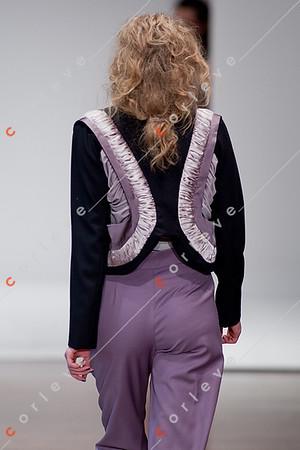 2010 Melbourne Spring Fashion Week - RMIT Dangerous Goods Runway 2 - Katelyn Donald